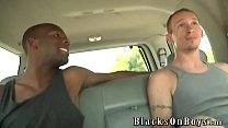 Brian Walker Gets His First Black Cock