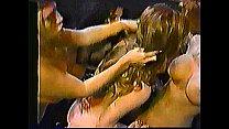 Anna Malle in lesbian foursome
