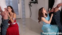 Melissa Moore and Riley Reid Prom Sex
