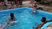Festa da putaria na piscina Câmera Caseira