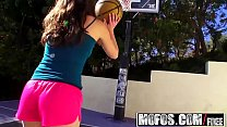 Mofos - Lets Try Anal - Basketball or Anal.....hmmmm Anal it is starring  Casey Calvert hmmmm Anal i