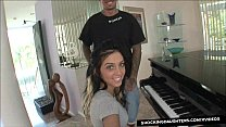 Horny Step Daughter Stephanie Cane Fucks Her Older Daddy