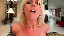 Milf Thing Big titted MILF takes on two in the ass 20