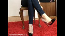 Jerk off lesson Lady Suzanne