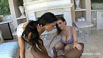 BBC Lovers Sara Jay and Amy Anderssen 3Way!