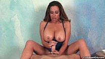 cumblast-Hot Latina gets a huge pop