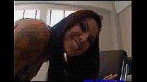 Chayse Evans takes off her panties 00