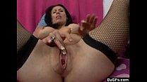 Brunette Shows Her Masturbating Skill