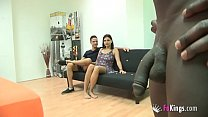 threesome interracial first her wants Teen