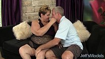 Horny mature BBW Bonita gets fucked hard