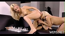 That babe gets massage with urina
