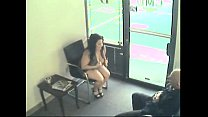porn.com.Couple Pass Time In Waiting Room The H...