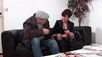 Amateur mature hard DP and facialized in 3way w...