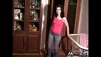 Alinna is a cute, brunette teen who must be the t