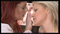 Lesbea Deep and sensual kissing girls