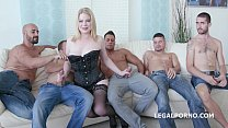 PAWG 5on1 Adry Berty welcome to PORN with DP /D...