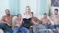 swallows 5 and /tp /dap dp with porn to welcome berty adry 5on1 Pawg
