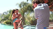 Carina Roman Pool Sex Fuck - Follando en la piscina