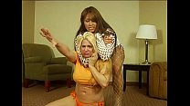 DragonLily defeats the Wrestling Champ Vanessa