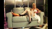 Stunnin Blonde Natasha First Time Dildo Video