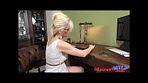 masturbation solo blonde Mature