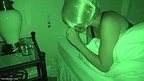 Homemade nightvision perfect blonde milf