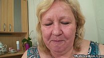 Big tited mother inlaw pleases him