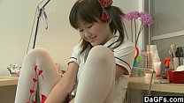 body her discovering teen asian Young
