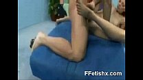 Seductive Foot Fetish Teen XXX Makeout