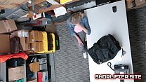 Adventurous Shoplifting Amature Spy-Cam Fucking In Store Backroom