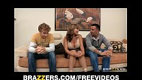 Big-tit MILF Ava Devine gets double teamed and ...