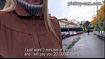 Eurobabe Zuzana banged with stranger for some money