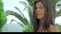 Hot Argentinian Babe Stripping Outside on Sofa - stream