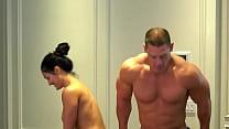Nude 500K celebration! John Cena and Nikki Bella stay true to their promise!