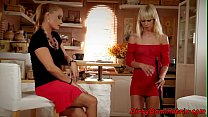 Lesbian eurobabes pussytoying themselves
