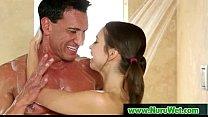 Nuru Massage Sex And Nasty Slippery Blowjob Movie 22
