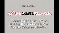 Sultry Lady In Lingerie Fucks Black