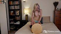 Sexy Blonde Sara Masturbating