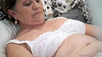 cock young with filled pussy hairy Old
