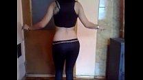 Hot turkish girl caught dancing nude in hiddenc...