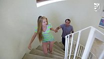 Mexican baby sitter fucks young teen blonde Avril Hall!!!
