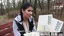 Public Pick Ups - Innocent Student Makes Amateur Porn starring  Lady D