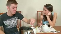 Brother Seduce German Step-Sister to get her Fi...