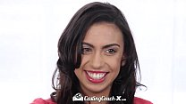 CastingCouch-X - First porn audition for Asha M...