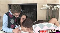 Dillion Harper 3some with her History Prof and ...