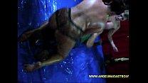 Sara Jay & Angelina Castro Oil Fight!