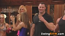 Blonde chick Beth enters playboy mansion for swinging contesth-1