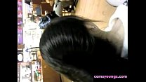 Chinese Hairjob Free Amateur Porn Video