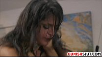 Sophia Leone restricted and is devoured in hard fashion