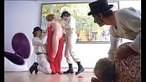 Film girl forced: A Clockwork Orange - Adrienn...